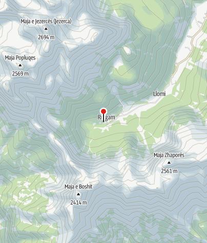 Map / Bar kafe Rragami