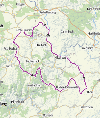 Karte / 3-Länder-Radevent 31. Juli bis 2. August 2017
