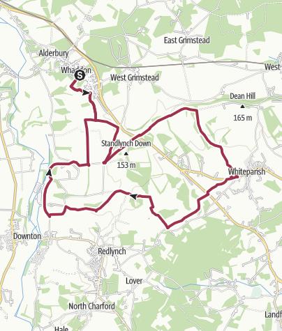 Map / Pepperbox Hill walk