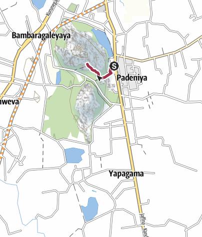 Sri Lanka Karte Zum Drucken.Dambulla Höhlentempel Sri Lanka Wanderung Outdooractive Com