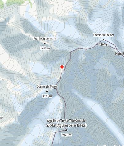 Karte / Refuge Durier