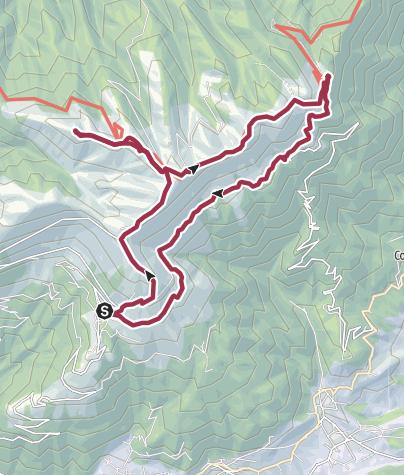 Map / Monte Cesen
