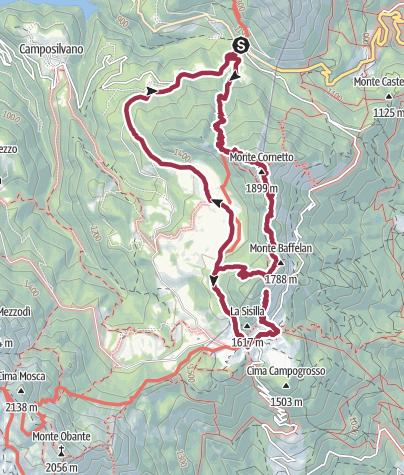Map / WR 024 Il Sengio Alto