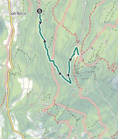 Map / Hike to Rifugio Maranza