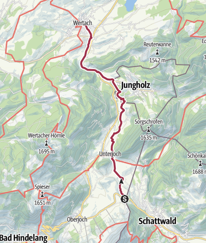 Karte / Sebaldweg
