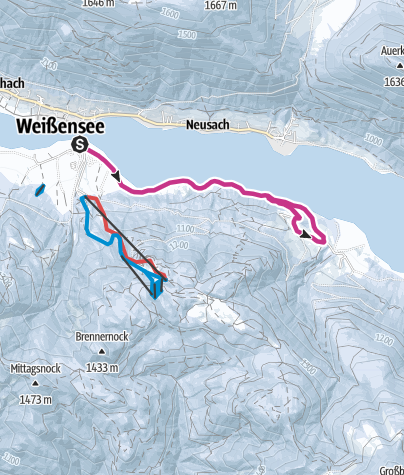 Karte / Techendorf-Obernaggl-Unternaggl