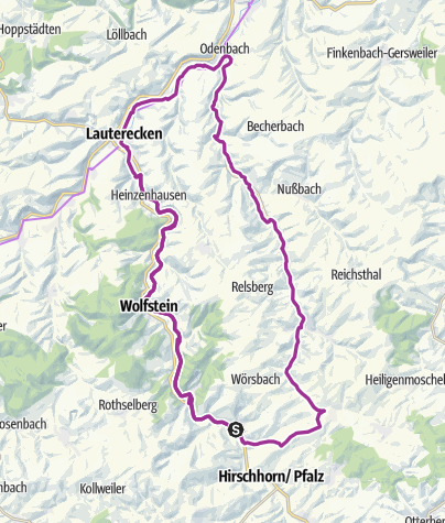 Karte / Kaiserslautern-Kusel, die Kreise schneiden sich