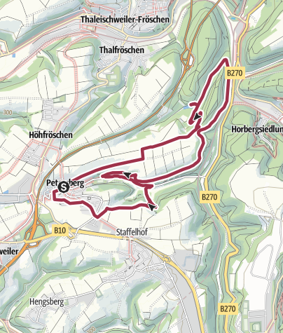 Karte / Dreiherrensteinweg