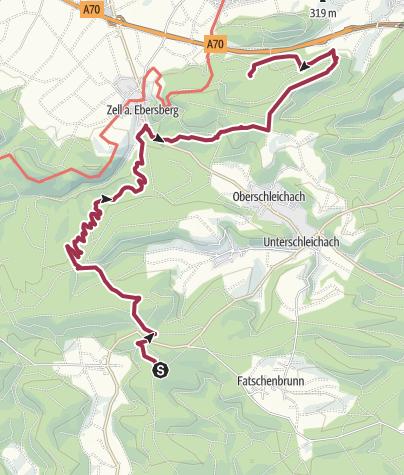 Karte / Tag 2 Steinkuck Laubwiese