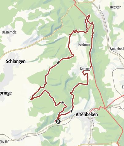 Karte / Naturschätze-Steig