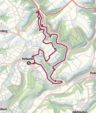 Karte / Keltenpfad bei Maßweiler