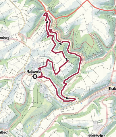 Map / Celts trail near Maßweiler