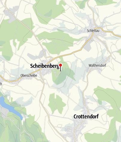 Map / Bürger- & Berggasthaus Scheibenberg