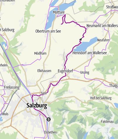 Karte / Ausfahrt B Buchberg