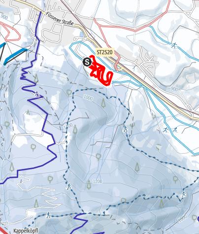Karte / Flutlichtloipe