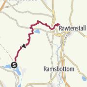 Map / RMHT Stage 07:  Entwistle to Rawtenstall