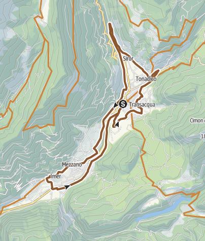 Map / Family Green Way Primiero Tour