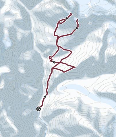 Map / Nagoru Yak Kharka, Nagoru East (6116 m) und Nagoru Central (6165 m) - Campingtrekking ab/bis Phu (Phoo)