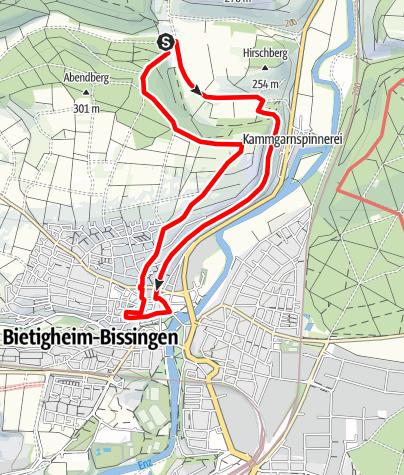 Karte / 3B- Land: Steillagen-Tour