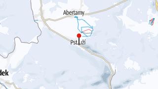 Karte / Skiareál Plešivec