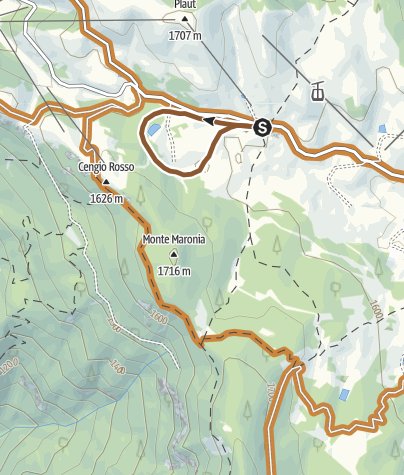 Cartina / Fat Bike - Passo Coe easy
