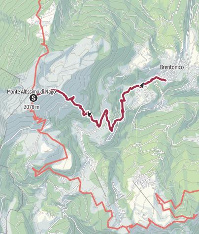 Map / WR 053bis: Dal Monte Altissimo a Brentonico