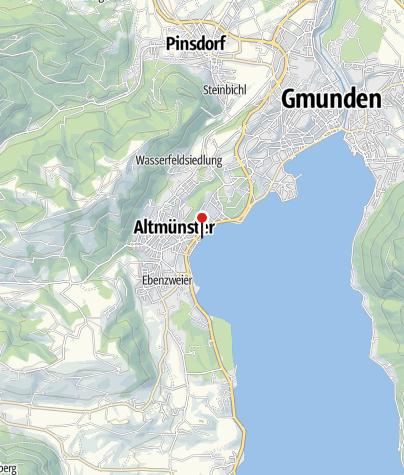 Map / Bewegungsarena Altmünster - Physiotherapie Gino bewegt Altmünster