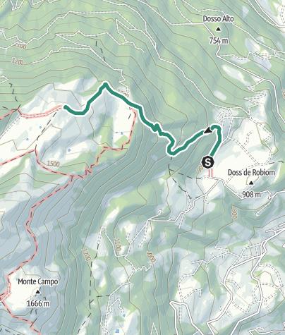 Map / Hike to the Rifugio Malga Campei di Sopra