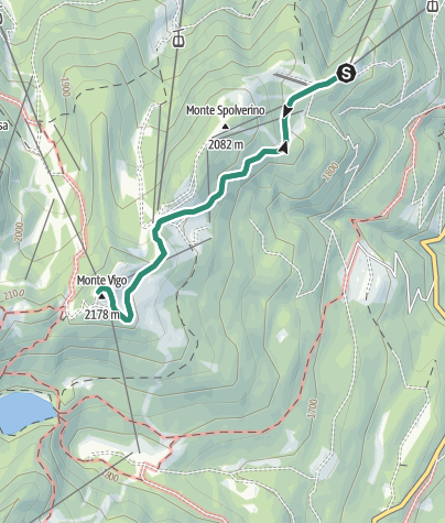 Map / Hike to Rifugio Orso Bruno
