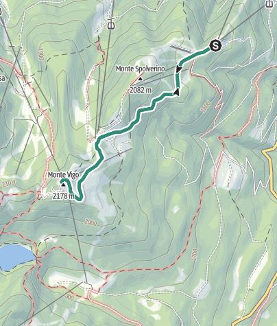 Cartina / Trekking al Rifugio Orso Bruno