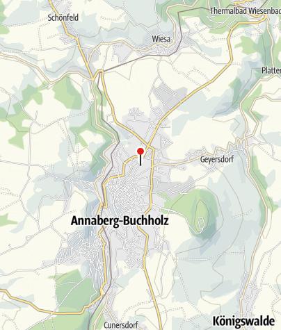 "Karte / Wanderwochen ""Echt Erzgebirge"""