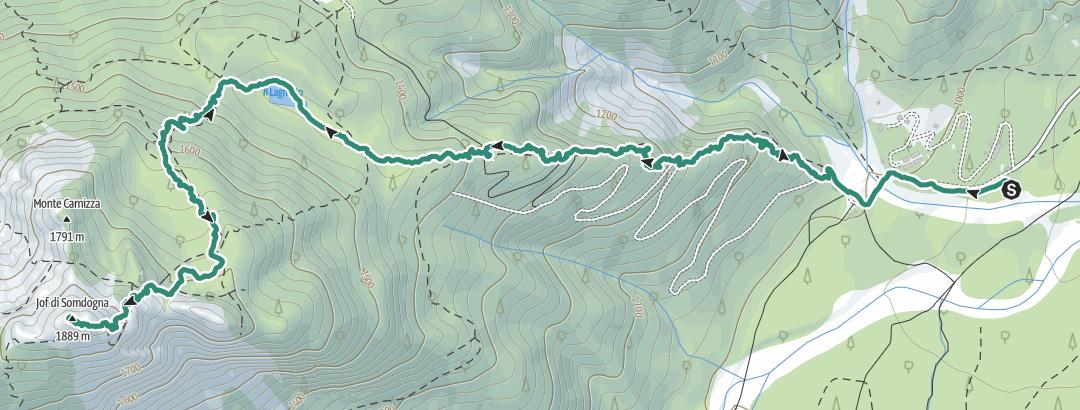 Carte / Randonnée technique le 21 juin 2021 à 08:59