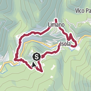 Map / Hiking route starting in Casoli