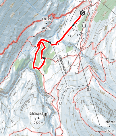 Map / Obergurgl Stone Pine Forest - Theme Trail
