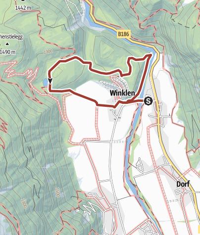 Map / Geotrail Winkelbergsee - Längenfeld
