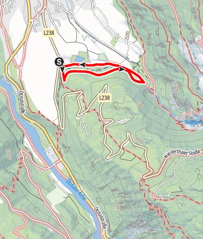 Karte / Arzwinkel Waalweg