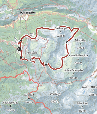 Map / Miners Trail Hochoetz