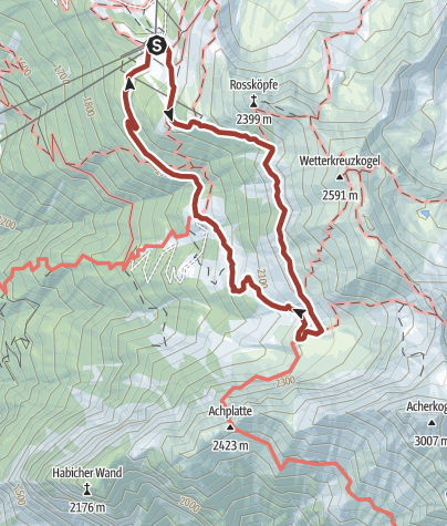 Map / Trail of senses Hochoetz