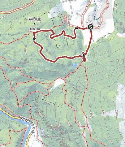 Map / Tauferberg forrest and Hoher Stein