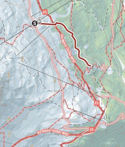 Map / Zwergerlweg Trail