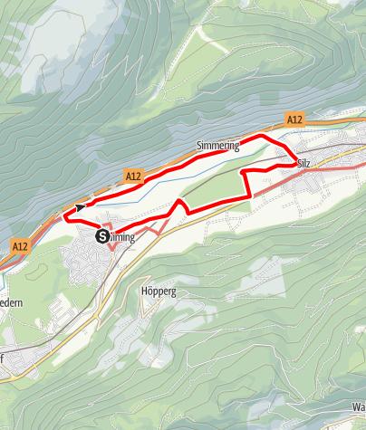 Karte / Apfelstraße Haiming