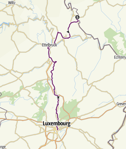 Map / Vianden - Luxembourg (day 6 part 1)