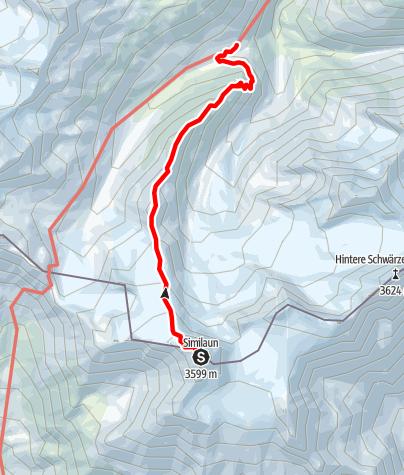 Karte / Martin Busch Hütte - Marzellkamm