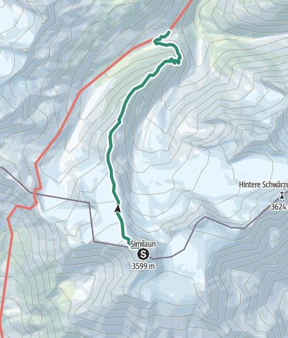 Map / Martin Busch Hütte - Marzellkamm