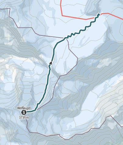 Map / Weisskugel