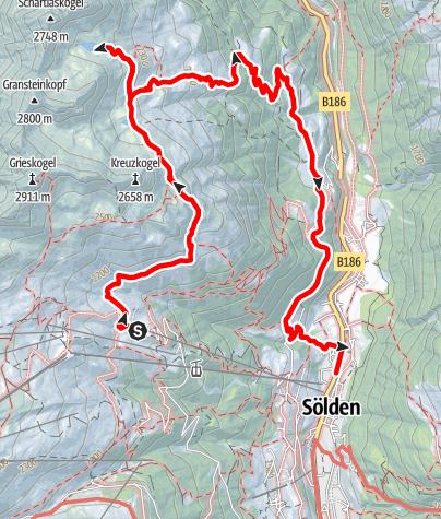 Karte / Peerlersee