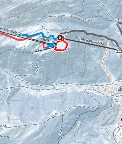 Map / Caischavedra  Mises Rundtour