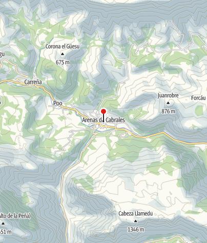 Map / Picos de Europa: Faszination Berge!