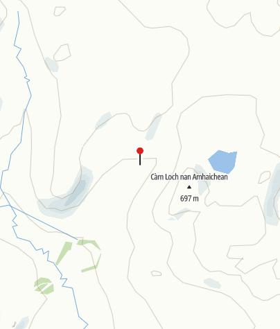 Map / Schottisches Hochland und Insel Skye
