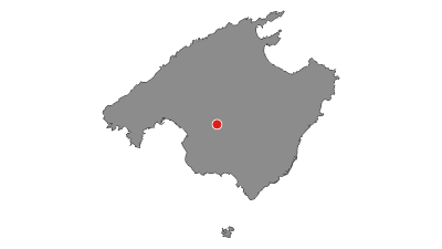 Karte / Durch die Serra de Tramuntana